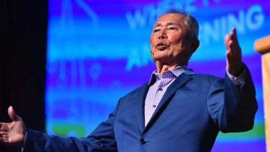 Geoge Takei talked about the Supreme Court decision to make same-sex marriage a right across the country.