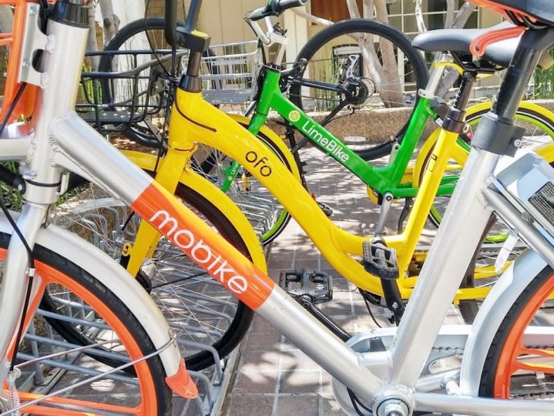 Bike sharing, mobike, ofo, LimeBike