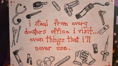 Other secrets displayed by the Museum of Man in PostSecrets are in the form of a confession.