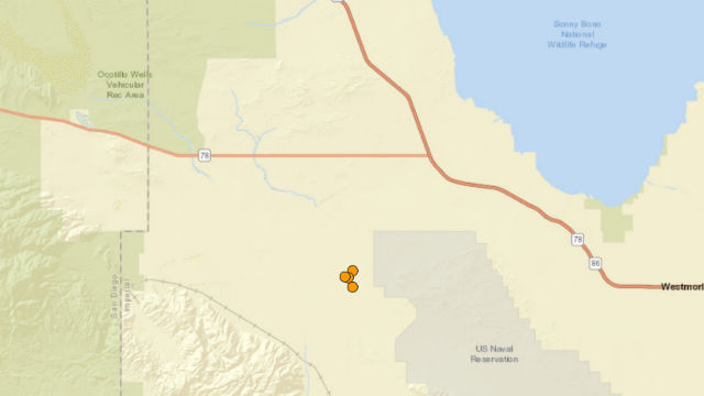 Earthquakes location