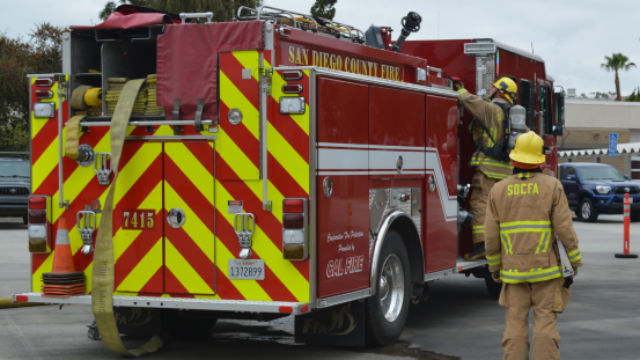 San Diego County Fire Authority vehicle