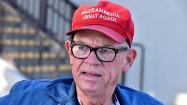 Trump supporter Sean Colgan.