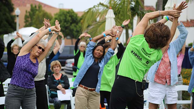 National City in 2017 promoted a Vital Aging Fitness Club program.