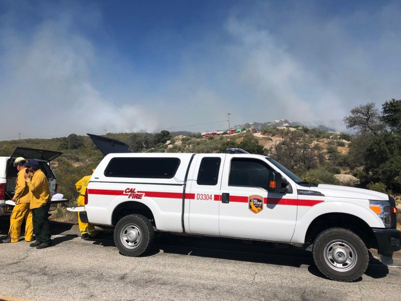 Campo Fire - Church Fire - Cal Fire