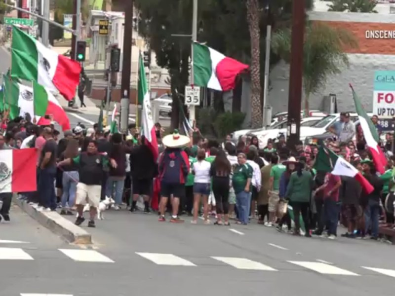 World Cup Mexico Fans