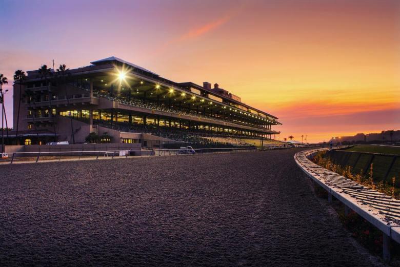Del Mar Racetrack-Grandstand- Under The Lights