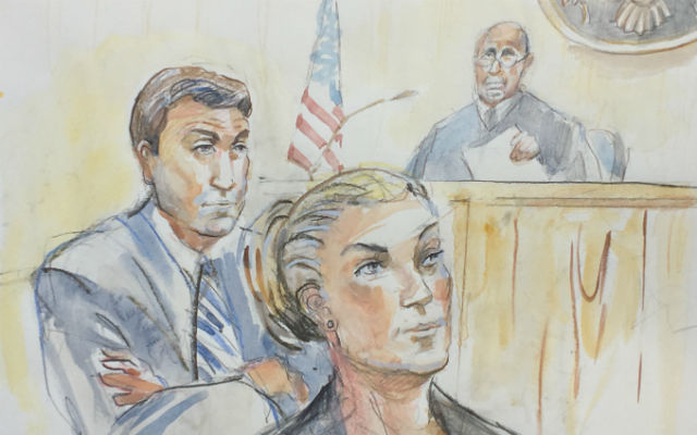 Duncan Hunter and his wife Margaret in court