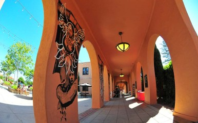 As artist Hugo Crosthwaite continues his murals down the corridor at Liberty Station, the subject matter will evolve.