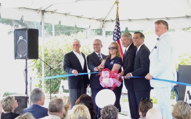 USO San Diego headquarters ribbon cutting