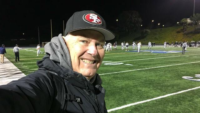 John Kentera on the field