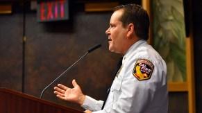 Local Cal Fire Chief Tony Mecham tells LAFCO board