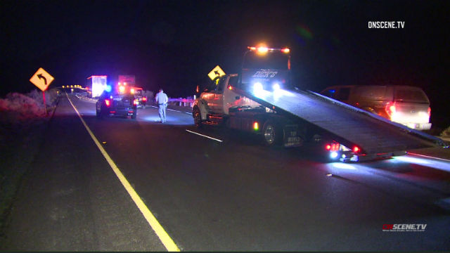 Emergency personnel respond to crash