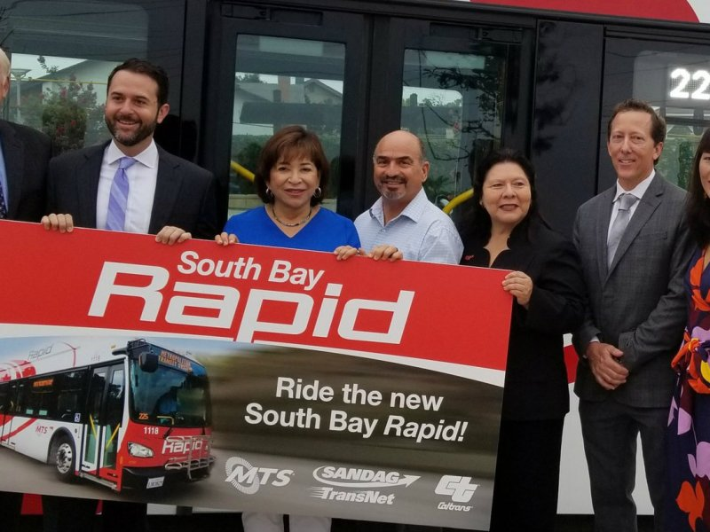 South Bay Rapid MTS - Chula Vista