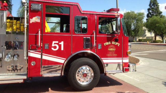 Chula Vista fire truck