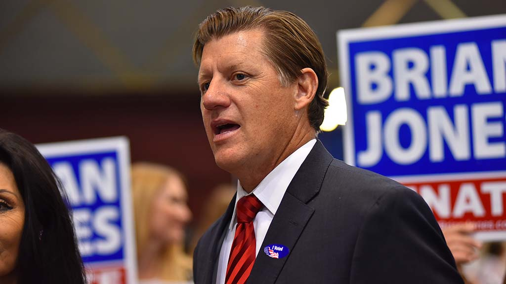 Brian Jones won a state senate seat.