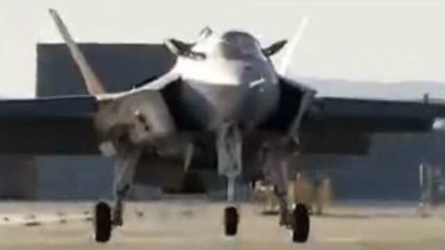 F-35B launches vertically