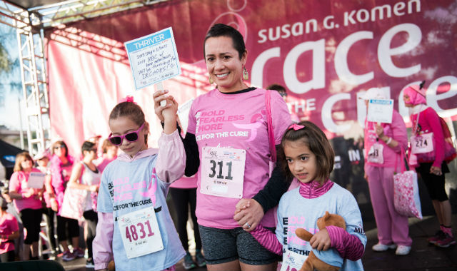Participants in the 2018 San Diego Race for the Cure