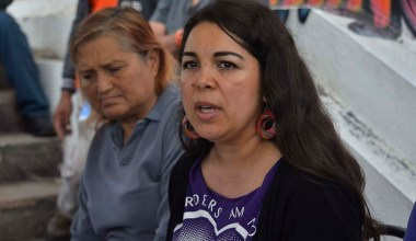 Sara Gurling, former president of Border Angels spoke against remarks recently made by the mayor of Tijuana.