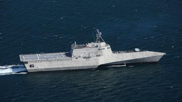 The future USS Tulsa