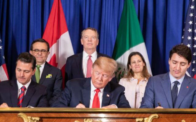 President Trump signs modernized NAFTA agreement