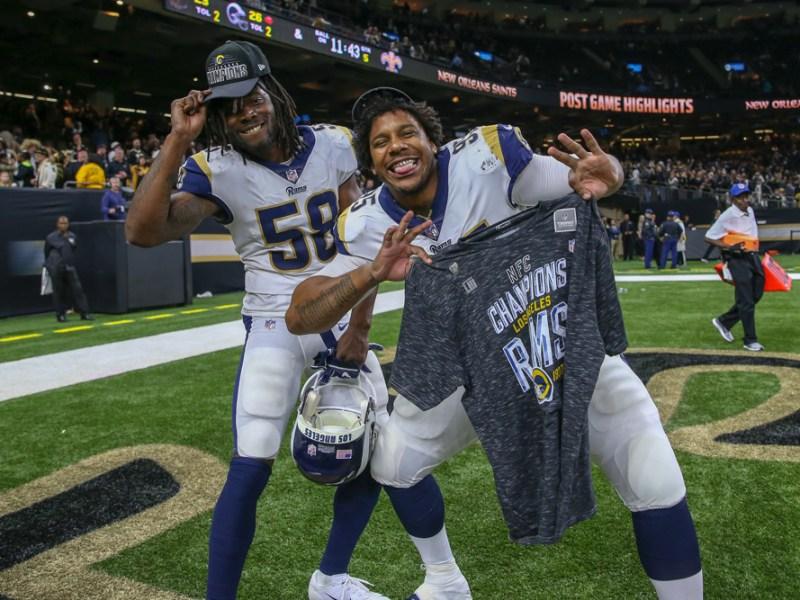 NFC Championship Game - Rams at Saints