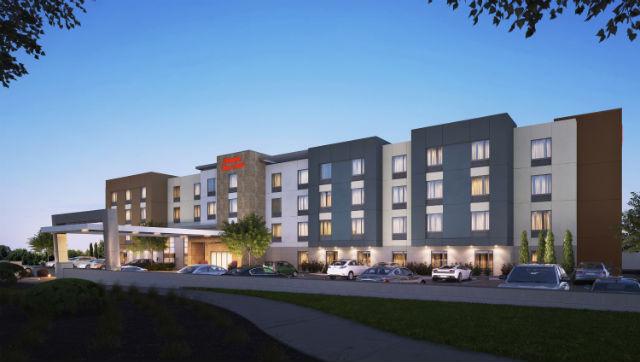 Rendering of Hampton Inn