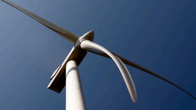 Windmill in Black Oak Getty Wind project
