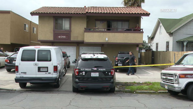 Rental residence where the body was found