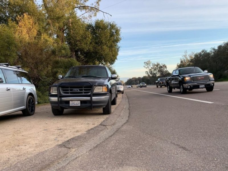 parking on state route 67