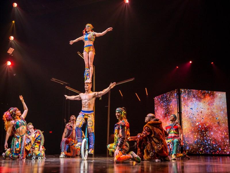 Cirque du Soleil's Volta