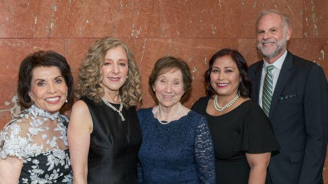Honorees at 2019 JFS gala