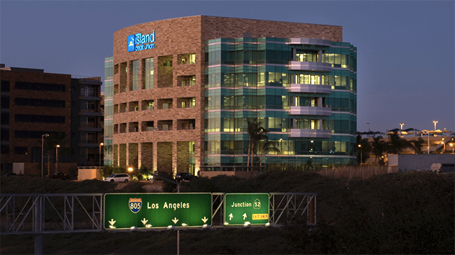 North Island Credit Union's San Diego headquarters.