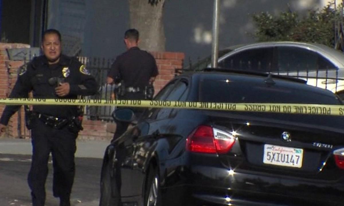 Crime scene in San Diego County