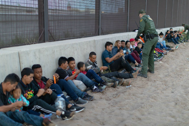 Detained immigrants