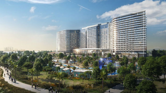 Rendering of completed Chula Vista Bayfront project