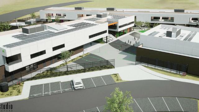 Rendering of planned elementary school