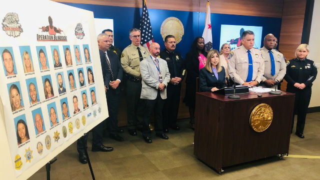 District Attorney Summer Stephan announces fraud charges