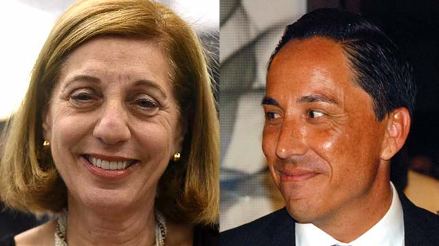 Democrats Barbara Bry and Todd Gloria vie for the nominally nonpartisan mayor seat in 2020. Photos by Chris St