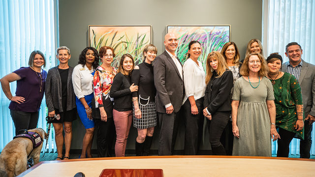 Leaders of nonprofits receiving grants