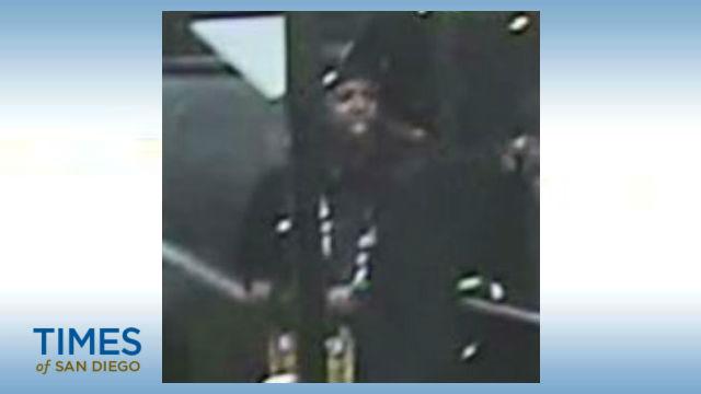 Surveillance camera image of suspect