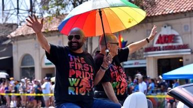 Dr. Orlando Espin and Richardo Gallego were named as an inspirational couple.