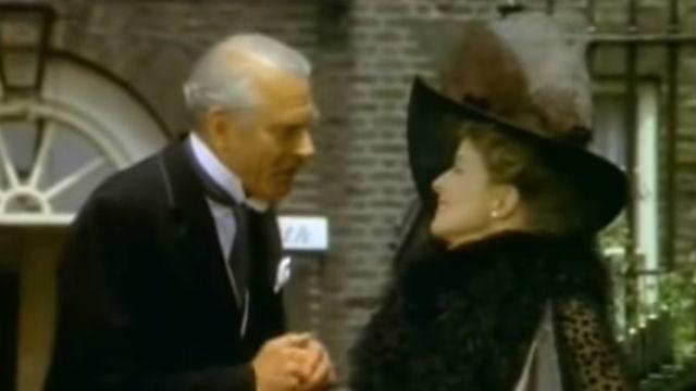 Sir Laurence Olivier and Katherine Hepburn