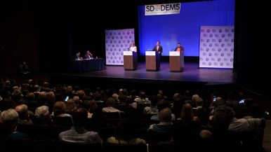 Some 14 questions were put to the mayoral hopefuls in a debate that lasted nearly two hours.