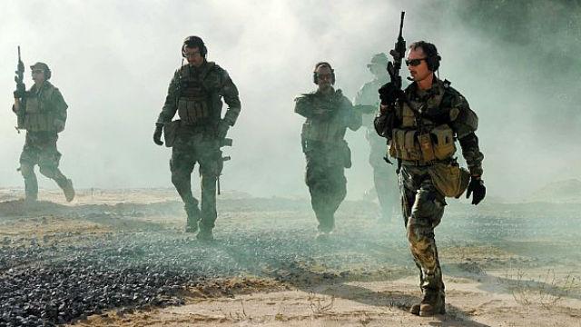 Navy SEALs training