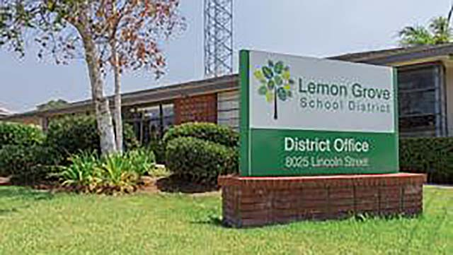 Lemon Grove School District offices.