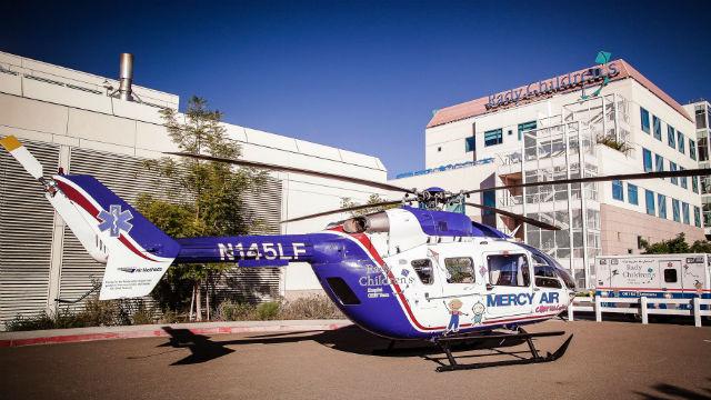 Rady Children's Hospital helicopter
