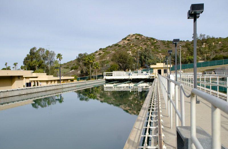 Poway water treatment facility