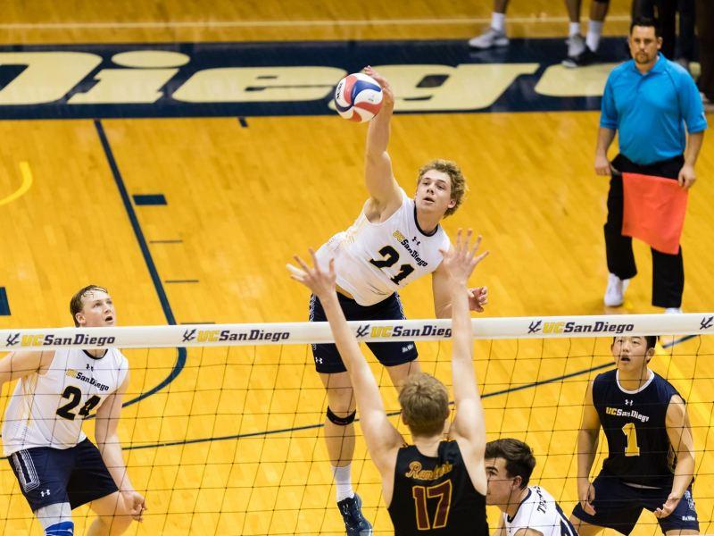 UCSD California Collegiate Athletic Volleyball