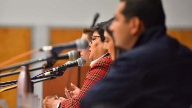 Georgette Gómez recalled her work in Barrio Logan, fighting for environmental justice.