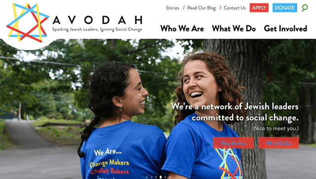 Homepage image of Avodah, which is starting a San Diego branch.